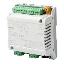I/O block with KNX PL-Link block for use with a PXC3.E7.. series room automation station