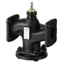 2- port valve, flanged, PN 6, DN25, kvs 10