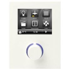 Room Controller Contouch, incl.  bus coupling unit, titanium white