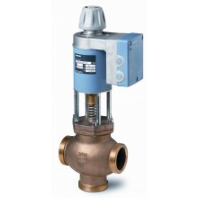 Mixing/2-port magnetic control valve, external thread, PN16, DN20, kvs 5, AC / DC 24 V, DC 0/2...10 V / 4...20 mA